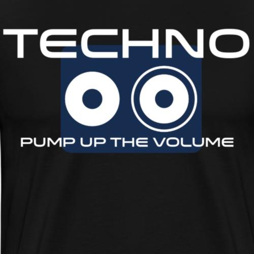 Techno - Mannen Premium T-shirt