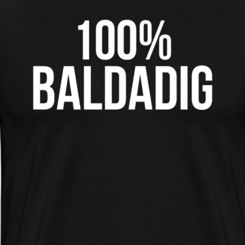 100% Baldadig - Mannen Premium T-shirt
