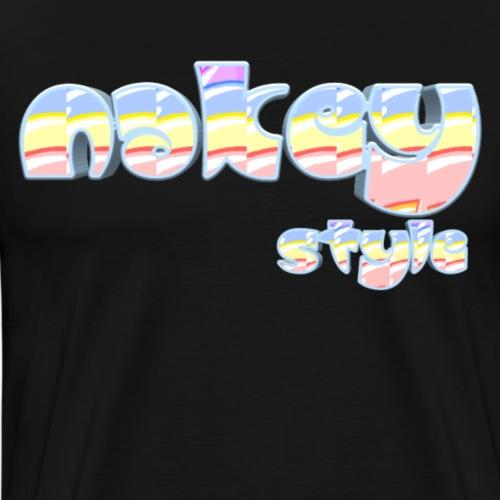 Nakey - Mannen Premium T-shirt