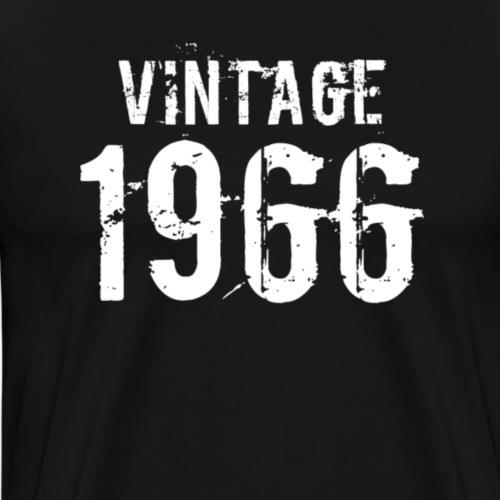 Vintage 1966 - Mannen Premium T-shirt