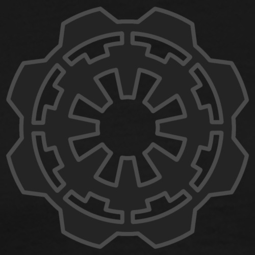 DarkerImage Black on Black (LIMITED) - Men's Premium T-Shirt