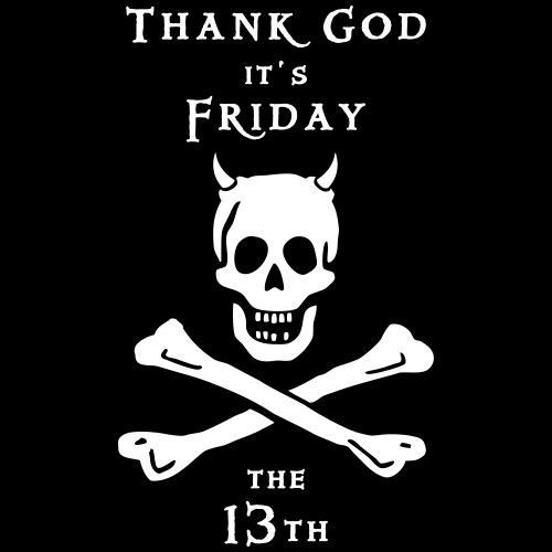 ~ Thank god it´s Friday 13th ~ - Männer Premium T-Shirt