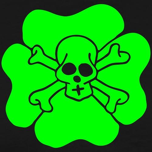 Ireland Clover Shamrock Saint patricks day Skulls - Männer Premium T-Shirt