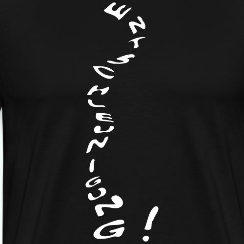 entschleunigung - Männer Premium T-Shirt
