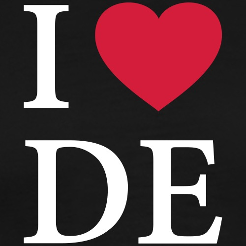 I HEART GERMANY – LOVE - Männer Premium T-Shirt
