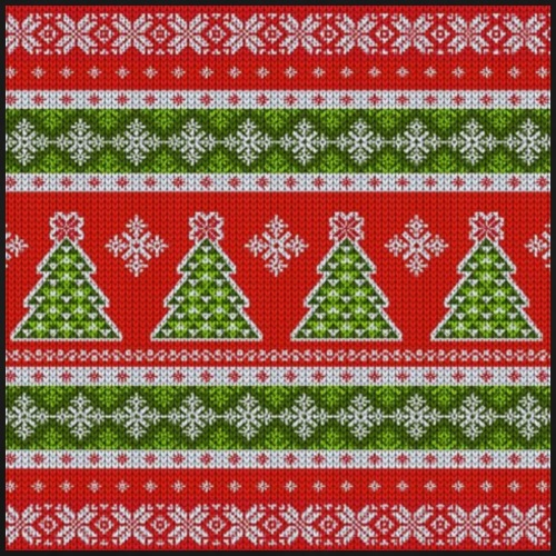 sweater pattern - Männer Premium T-Shirt