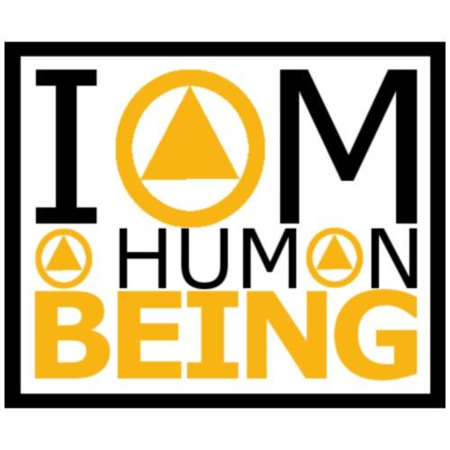 I am a human being - Men's Premium T-Shirt