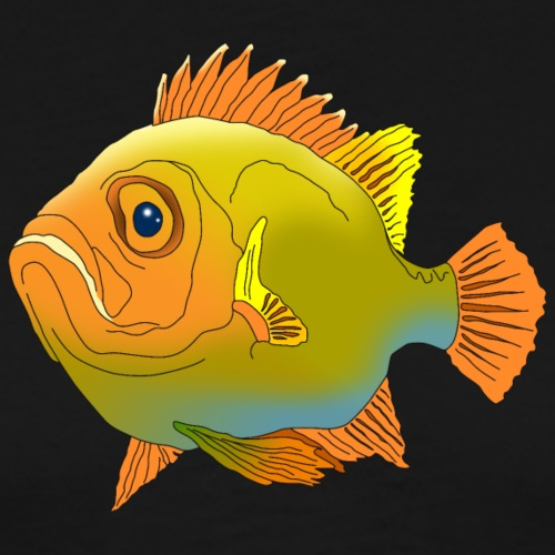 Fisch Barsch Ozean Meer Wasser Aquarium Angeln - Men's Premium T-Shirt