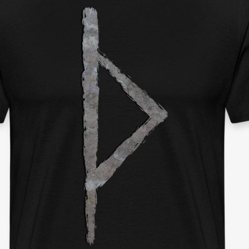 Thurisaz #3 Stone By TheRawburt - Premium-T-shirt herr