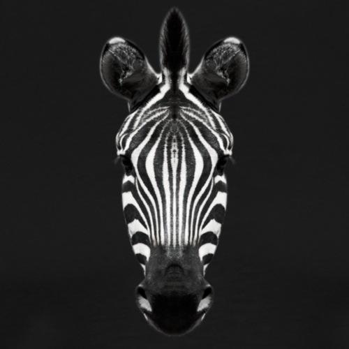 Zebra Blick - Männer Premium T-Shirt