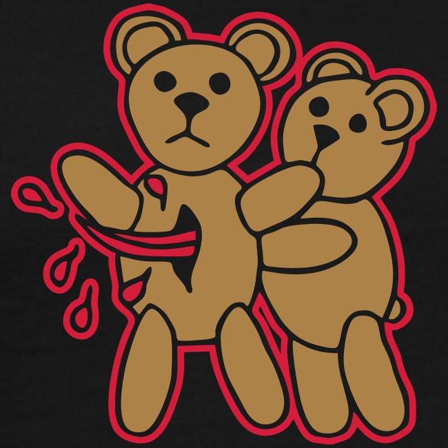 Teddy Killer Kuscheltiere Pets Blood Blut Fun Joke