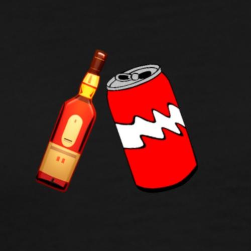 Whiskey Cola - Männer Premium T-Shirt