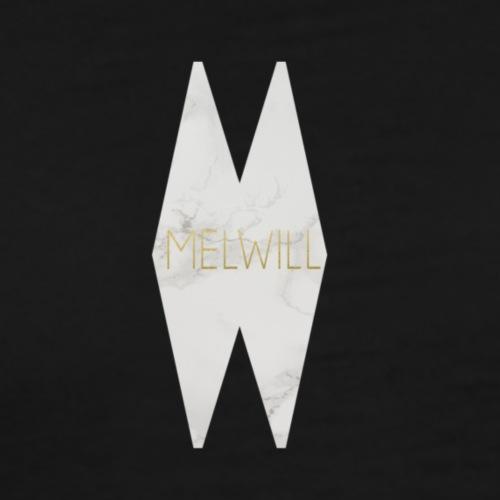 MELWILL white - Men's Premium T-Shirt