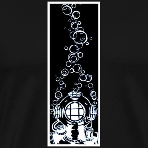 Diving Deep - Männer Premium T-Shirt