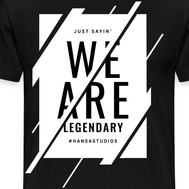 Hansa Studios T-Shirt | W.A.L. (Black)