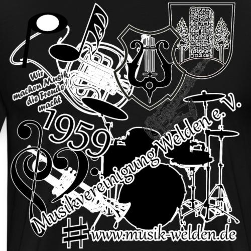 MVW Knuddel - Männer Premium T-Shirt