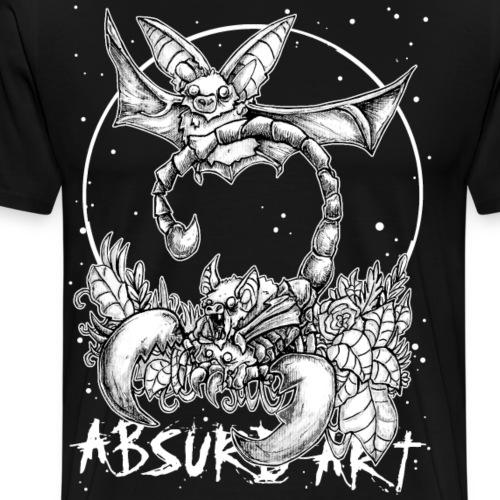 Sternzeichen Skorpion, von Absurd Art - Männer Premium T-Shirt