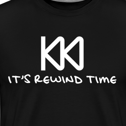 Rewind Time - Men's Premium T-Shirt