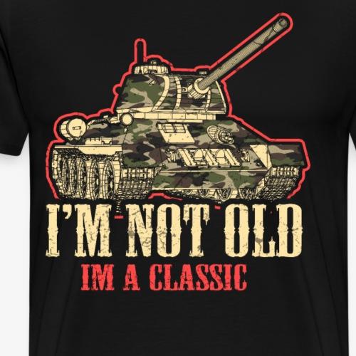Panzer I Tank I DDR Zone I`m not Old I`m a classic - Männer Premium T-Shirt