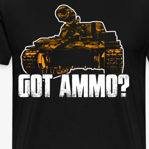 T 34 Panzer 2. Weltkrieg Militär ww2 Geschenkidee - Männer Premium T-Shirt