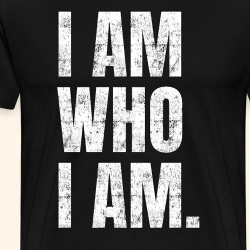 Lustiger englischer Spruch Motivation Workout Gym - Männer Premium T-Shirt