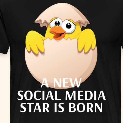 Weltrekord Ei neuer Social Media Star ist geboren - Männer Premium T-Shirt