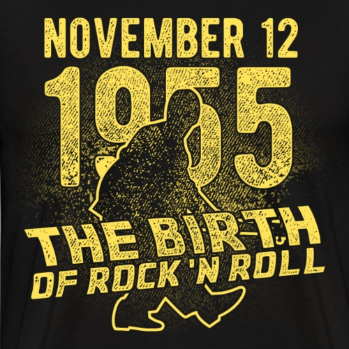 Geek & Film Fan Design Birth of Rock'n Roll - Männer Premium T-Shirt