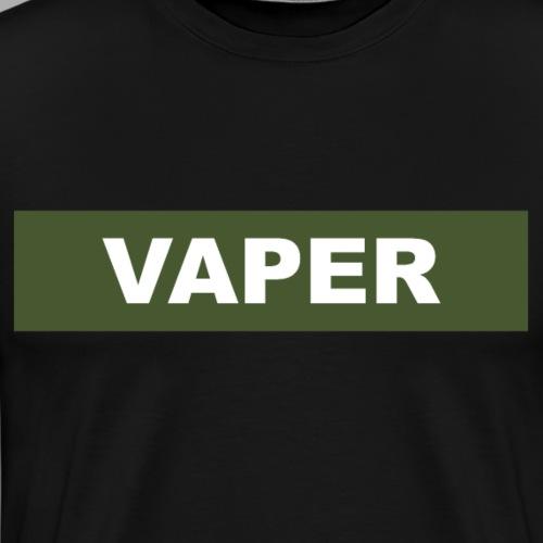 Vaper x Cloud Chaser - Männer Premium T-Shirt