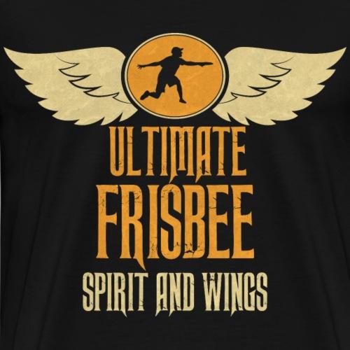 Spirit and Wings Ultimate Frisbee - Camiseta premium hombre