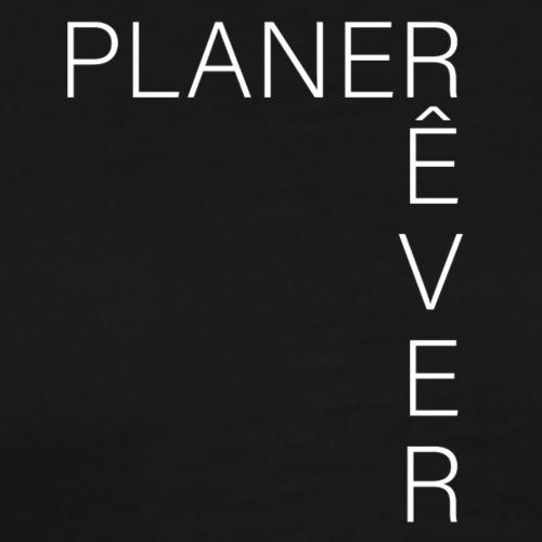 Planer Rêver Blanc - T-shirt Premium Homme