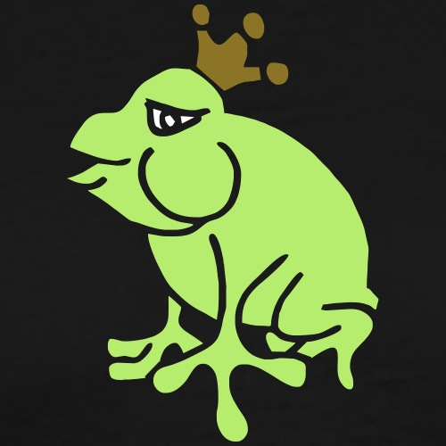 Crown Jewels Frogs Princess Queen Kisses Love King - Männer Premium T-Shirt