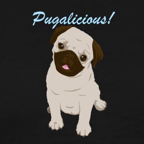 Pugalicious! - Mannen Premium T-shirt