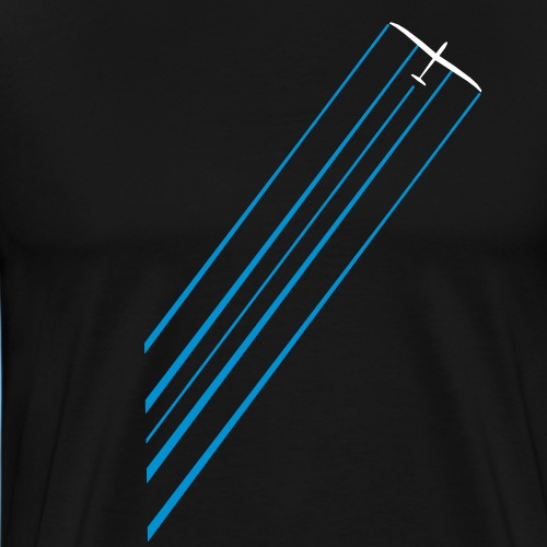 Segelflugzeug Segelflieger gleiten Geschenk - Männer Premium T-Shirt