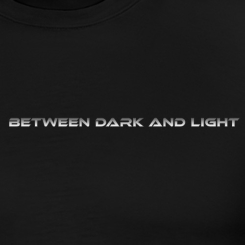 BetweenDarkAndLight Horizontal - Miesten premium t-paita
