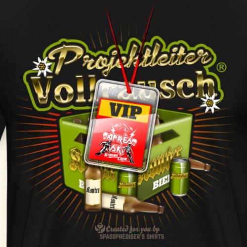 Projektleiter Vollrausch® Après Ski | SkiT-Shirts - Männer Premium T-Shirt