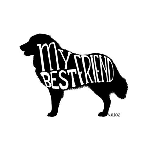 Maremmano Best Friend II - Miesten premium t-paita