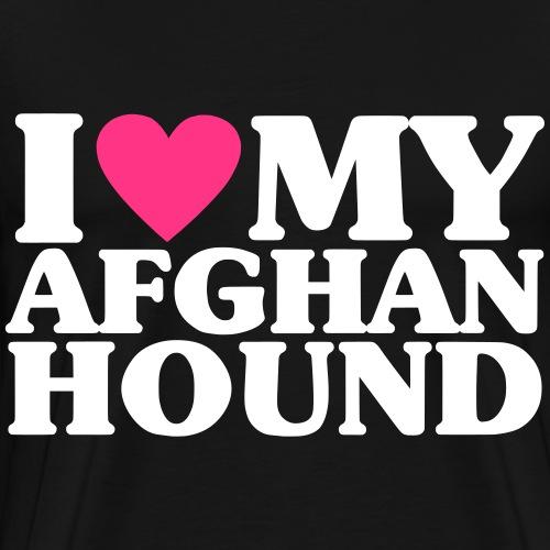 iheartmyafghan - Men's Premium T-Shirt