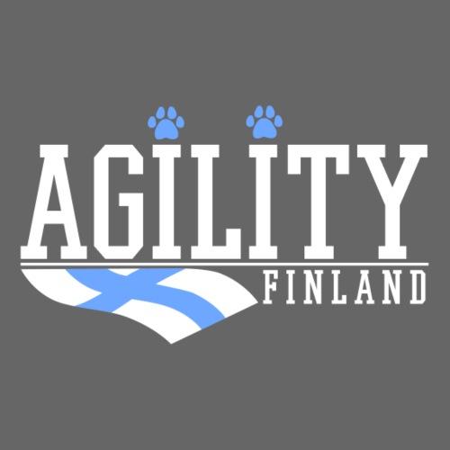 Agility Finland - Miesten premium t-paita