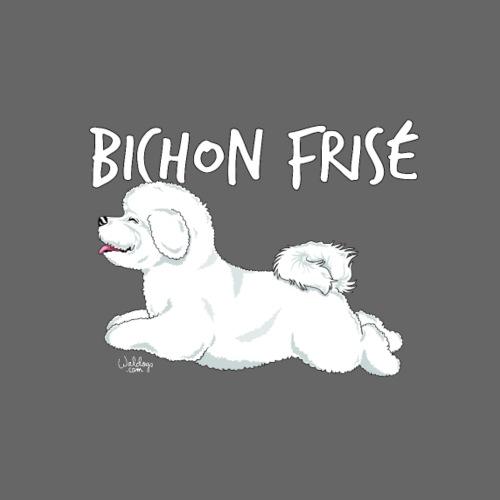bichonfrisejump - Miesten premium t-paita