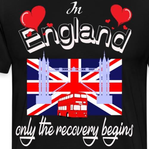 Urlaub England englisch lernen Ferien in England - Männer Premium T-Shirt