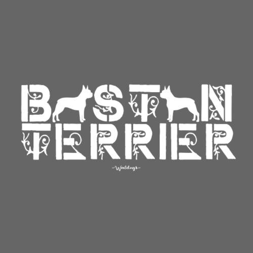 bostonterrierflow - Miesten premium t-paita
