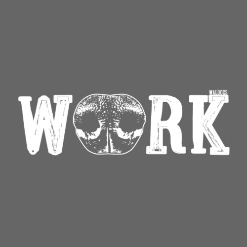 Nose Work Nose White - Miesten premium t-paita