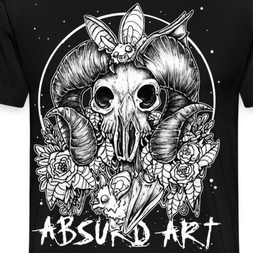 Sternzeichen Widder, von Absurd Art - Männer Premium T-Shirt