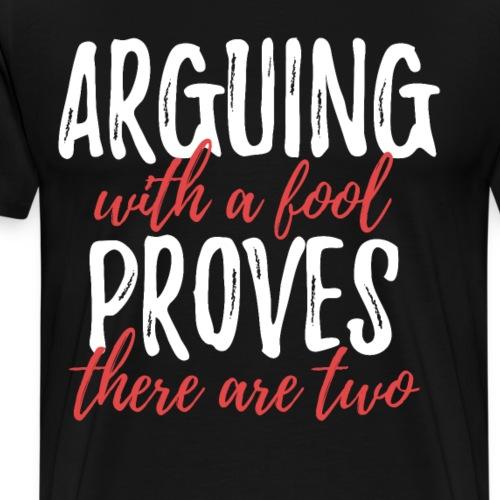 Witziges cooles T Shirt Frech lustiges Geschenk - Männer Premium T-Shirt