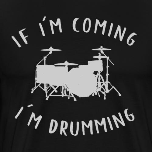 Drummer Shirt - Männer Premium T-Shirt