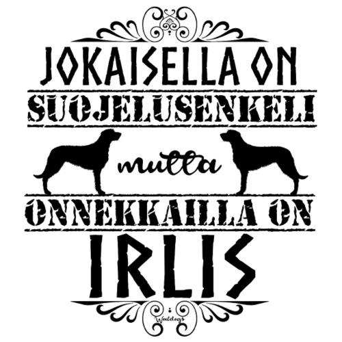 Irlanninsusikoira Enkelini M - Miesten premium t-paita