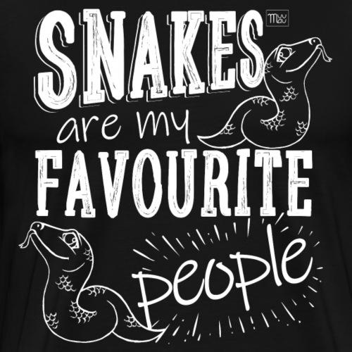Snakes Favourite III - Miesten premium t-paita