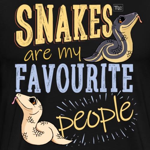 Snakes Favourite II - Miesten premium t-paita