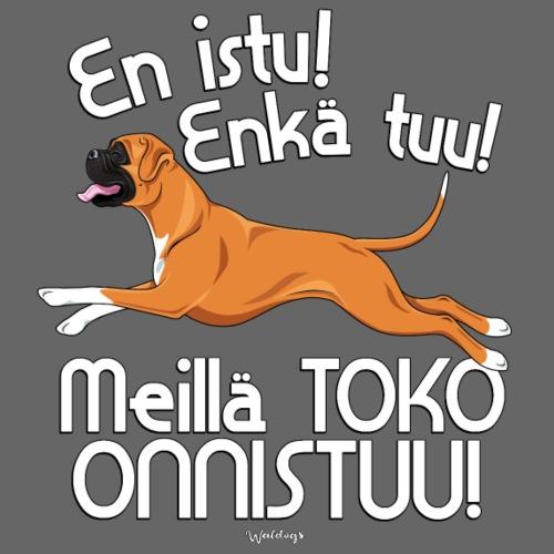 bokseritoko4 - Miesten premium t-paita