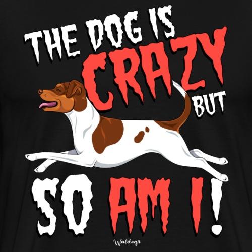Brazilian Terrier Crazy - Men's Premium T-Shirt
